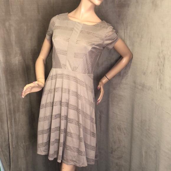 LC Lauren Conrad Dresses & Skirts - Beige Lauren Conrad Crochet Dress